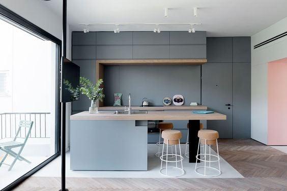 Desain Dapur Sempit Memanjang  furniterus 7 tipe dapur yang wajib kamu tahu