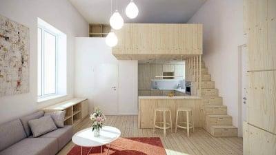 dekorasi apartemen dan rumah, apa sih bedanya?