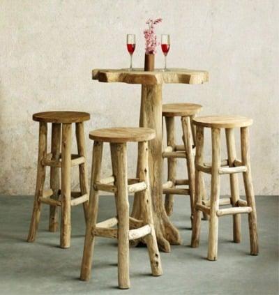 Desain Furniture Reclaimed Teak