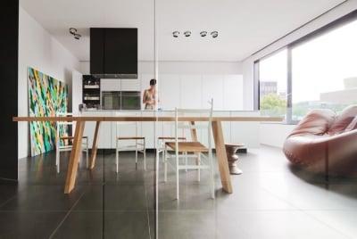 Area Gabung dekorasi rumah minimalis