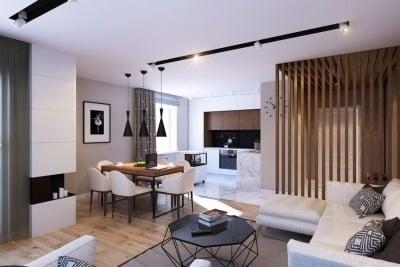 Penggunaan Sekat permanen menjadikan kamu tidak nyaman di apartemen