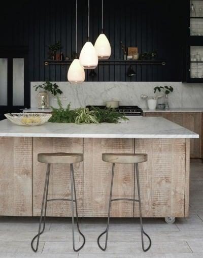 Model Kitchen Set Perpaduan Vintage dan Modern