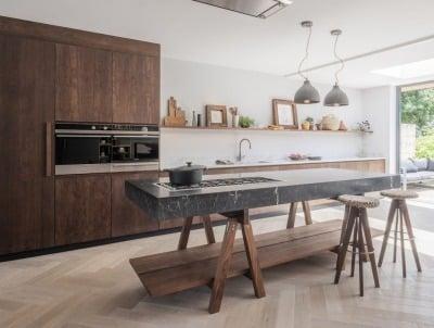 Model Kitchen Set Rustic yang Tak Tergerus Zaman