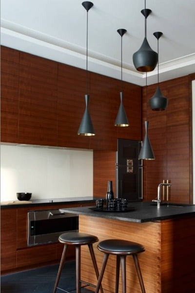 Model Kitchen Set Simple and Clean Look