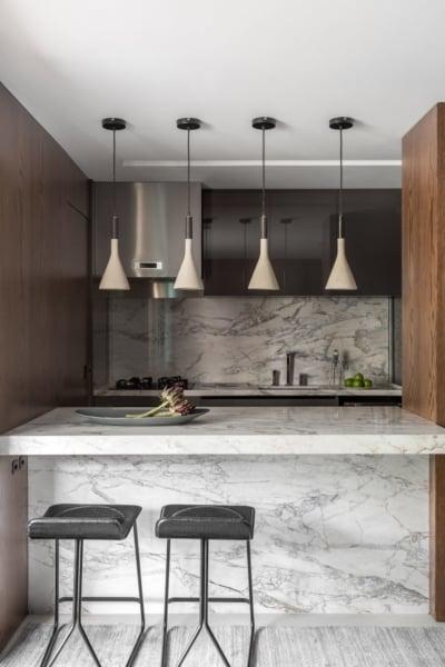 Kitchen Set Marmer yang Menawan