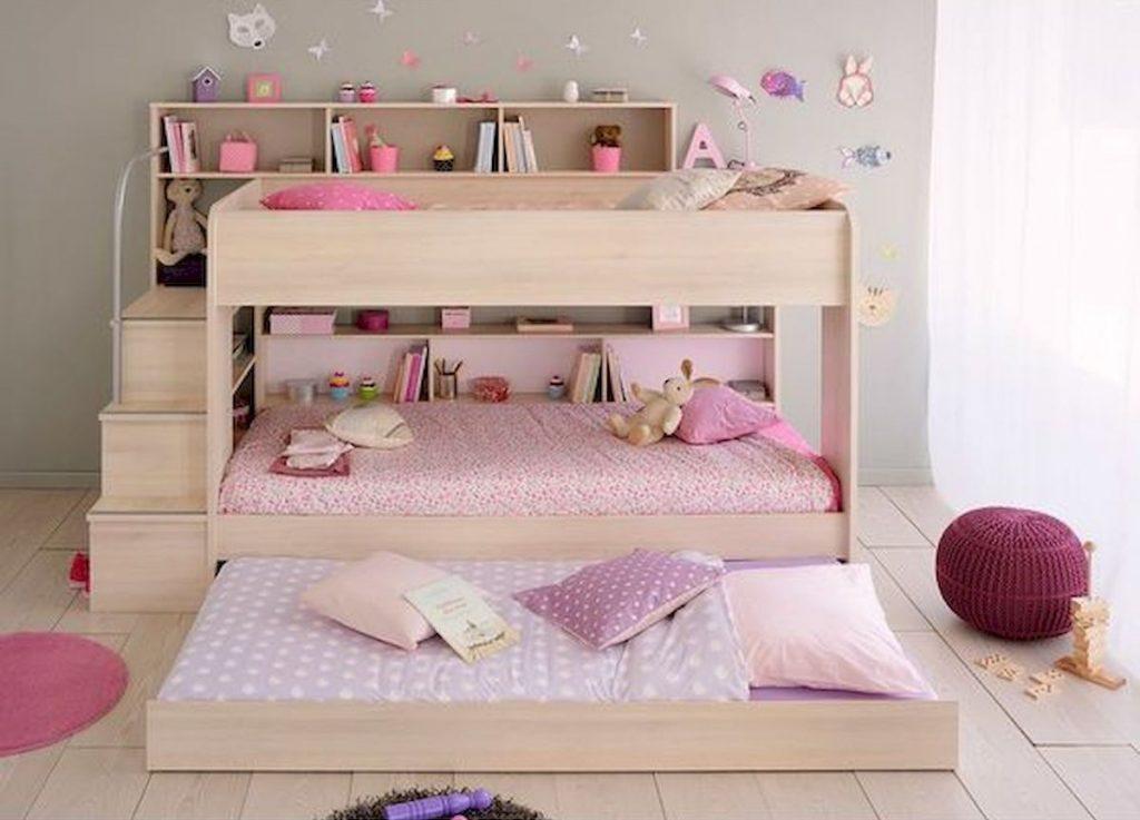 Desain Kamar Tidur Anak Bertiga