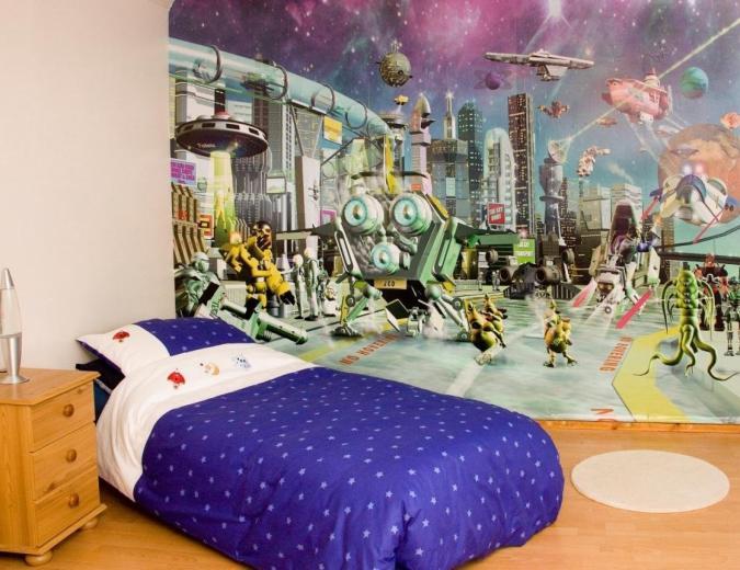 Wallpaper Kamar Anak yang Heboh dan Super Duper Unik