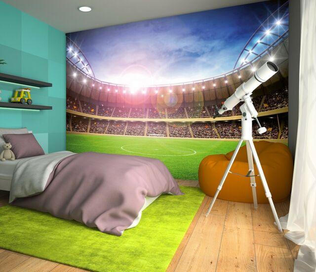 Wallpaper Kamar Anak Seluas Lapangan Bola