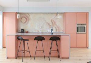 kitchen set pastel