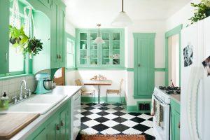 kitchen set retro