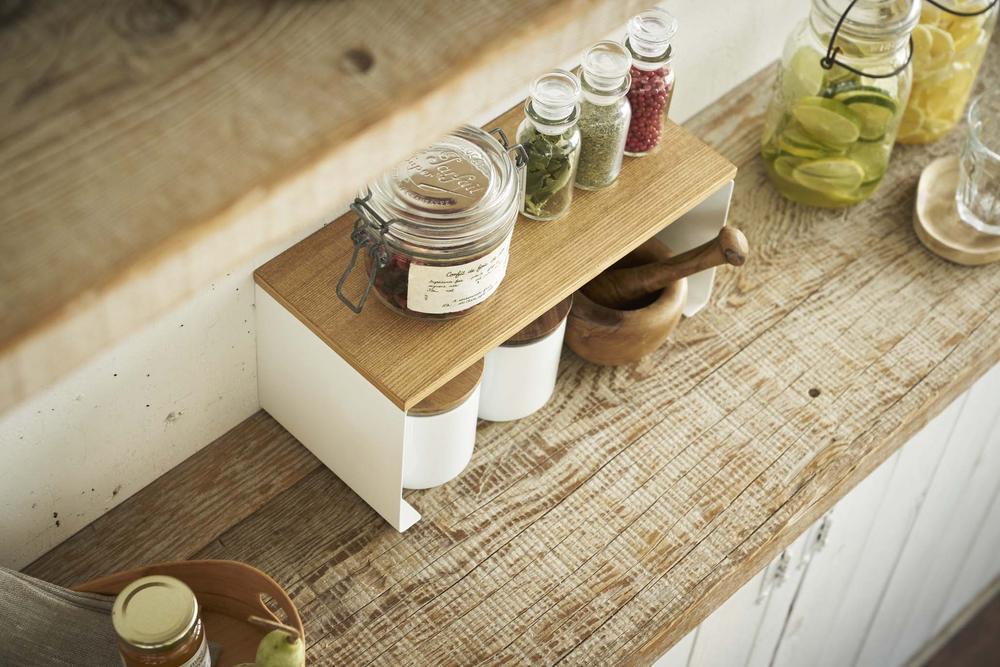 Meja kitchen set kayu solid