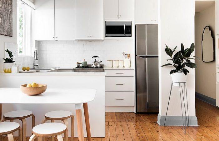 kitchen set mini bar dapur kecil untuk apartemen mungil